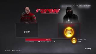 WWE 2K17 1v1 online (RAGE QUIT)
