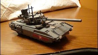 Brickmania T-14 Armata Russian Main Battle Tank Review