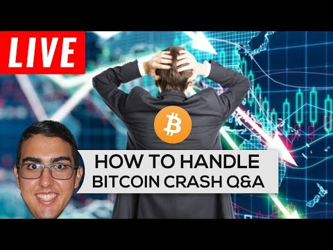How To Handle A Bitcoin ($BTC) Crash Q&A (LIVE)
