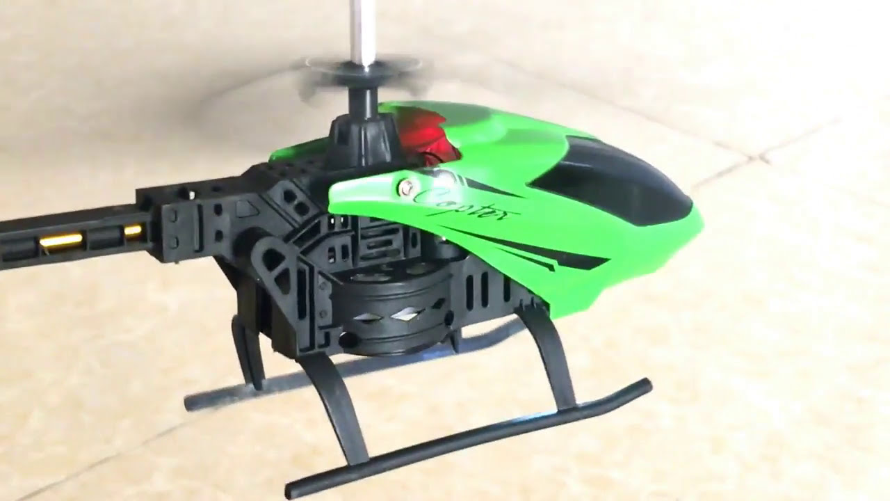 Syma S107g 3 Channel Rc Radio Remote Control Helicopter Gyro Green Helicopters Fly For Children Youtube