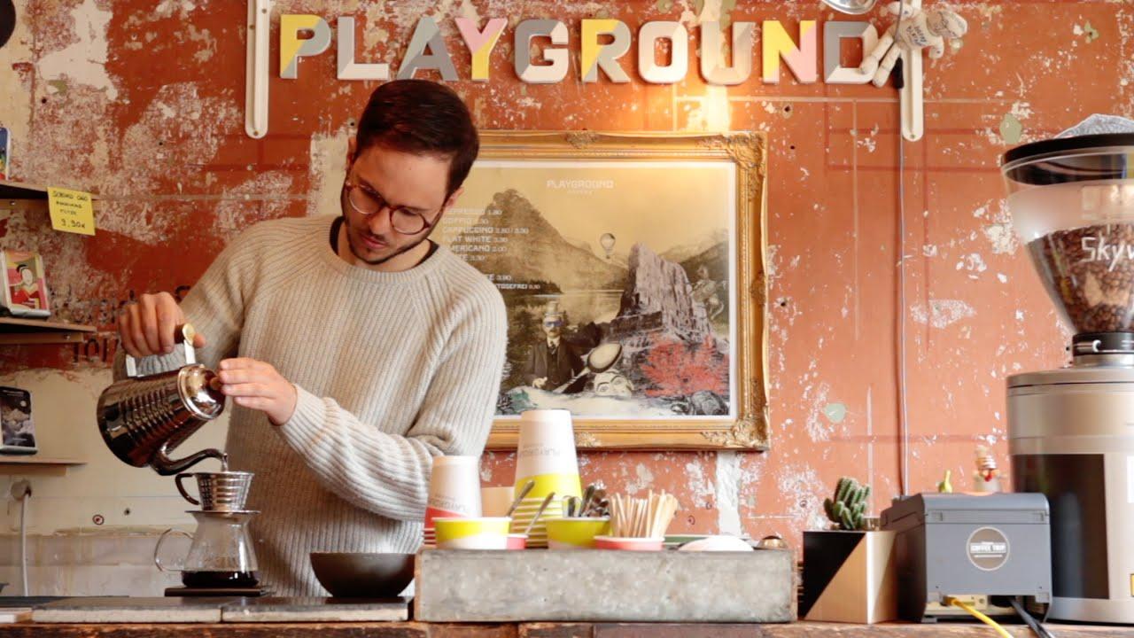 coffee in hamburg playground coffee veljko tatalovi youtube. Black Bedroom Furniture Sets. Home Design Ideas