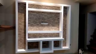 Durlock TV Rack con dicroicas apliques LED - Time Lapses -