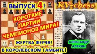Алехин Александр ♔ Шахматные ловушки в дебюте ♕ Быстрый мат в шахматах