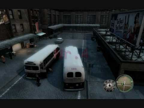 mafia 2 secret cars prison bus truck trailer youtube. Black Bedroom Furniture Sets. Home Design Ideas