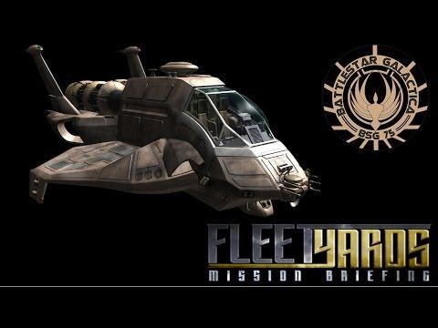 Colonial Raptor (BSG 2004) - Fleetyards Mission Briefing