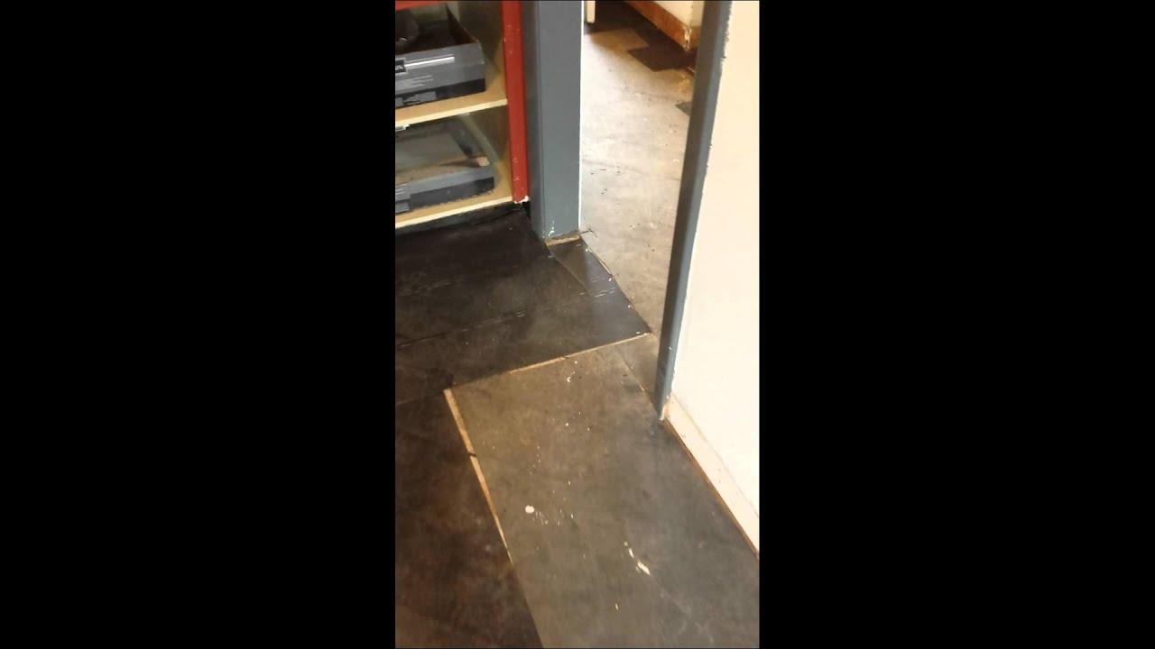 Prep Sub Floor With Tar Paper Youtube