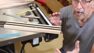 Sliding Bypass Doors Part 1 - The Down to Earth Woodworker