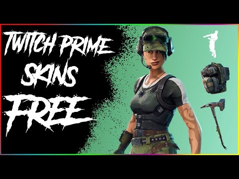 How to get the twitch prime fortnite pack 2 for free!(twitch