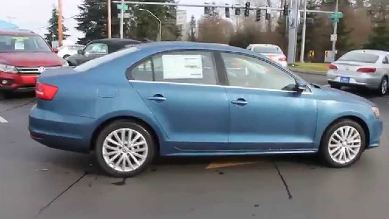 2017 Vw Jetta >> 2015 Volkswagen Jetta, Silk Blue Metallic - STOCK# 110252 - Walk around - YouTube