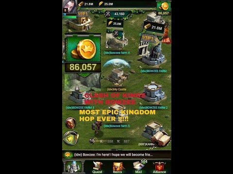 Clash of kings WORLD RECORD fastest LVL 15 castle ever ON VIDEO