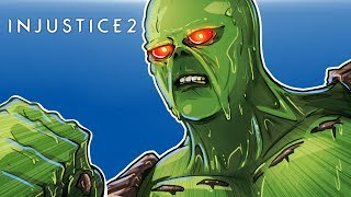INJUSTICE 2 - GET OUT OF MY SWAMP CARTOONZ!