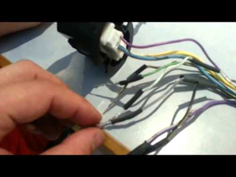 Door wire harness; F-150 2010 - YouTube