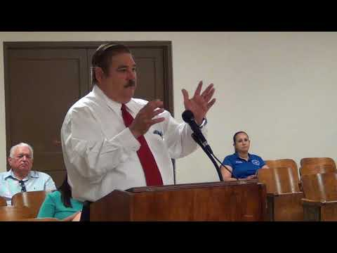 Starr County Commissioners Court 8-10-2017