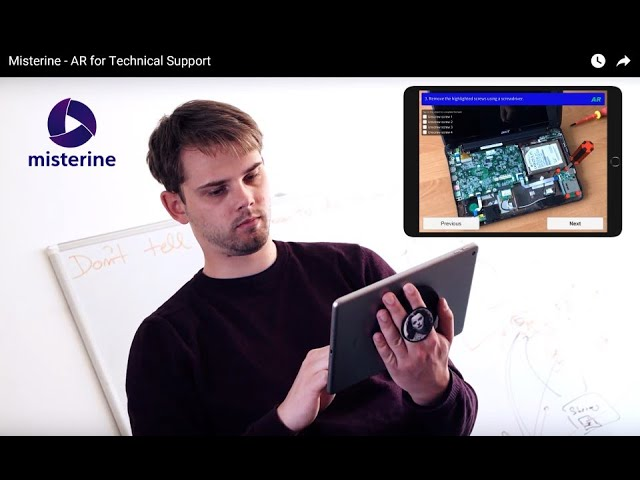 Misterine - AR for Technical Support