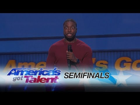 Preacher Lawson: Comedian Delivers Refreshing Take On Being Single - America's Got Talent 2017