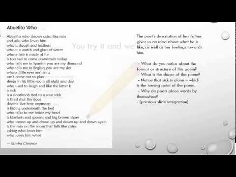 Lesson 2 Poem Format And Structure Youtube Despite it possibly being the easiest style to use, you will need some time to learn all of the rules, and time to train to apply them. youtube