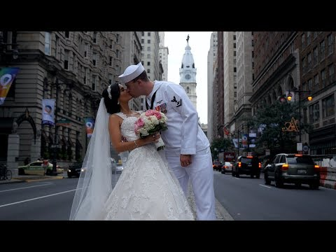 Amazing Wedding Film- Alexandria & Chris, a beautiful love story- Ballroom at Ben, Philly Weddings