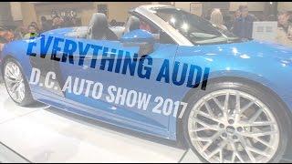 audi b9 s4 r8 spyder s5 q5 a5 sportback washington d c auto show 2017