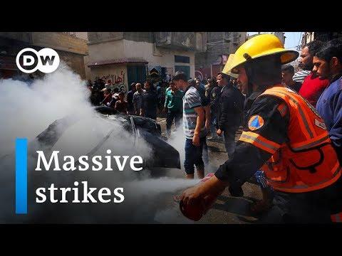 Israels Netanyahu orders massive strikes on Gaza militants | DW News