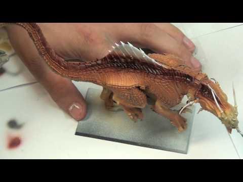 TTCombats Get it painted! Lizardmen Carnosaur