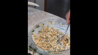 Making Corn Salad