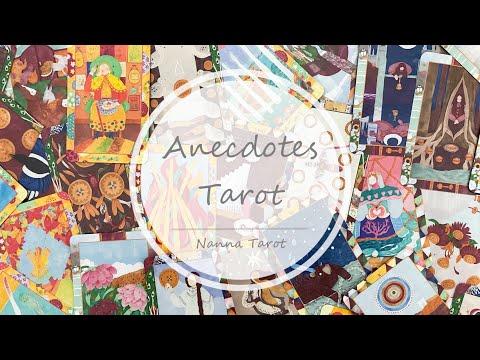 開箱  軼事塔羅牌 • Anecdotes Tarot // Nanna Tarot