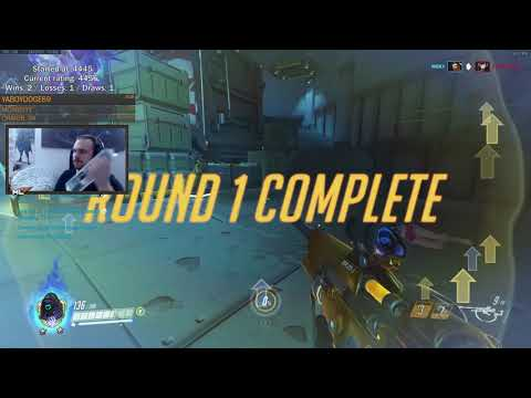Overwach Ana God ml7 Feat XQC Against Codey -The Most Intense Gameplay Ever-