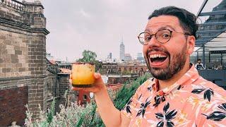 Mexico City Live: Rooḟtop Tacos + Mezcal Cocktails 🇲🇽