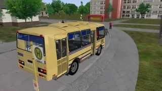 ПАЗ 3205 (OMSI) (Test Drive)