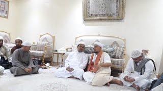 Pertemuan Habib Rizieq Shihab dengan Ust Arifin Ilham di Rumah Habib Makkah
