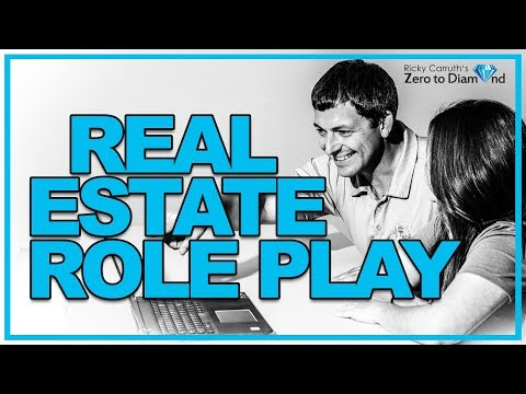 LIVE Real Estate Coaching and Role Playing with Ricky Carruth