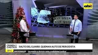 Crimen y Castigo: Hallan celular de narcos tras quema de auto usado por periodista