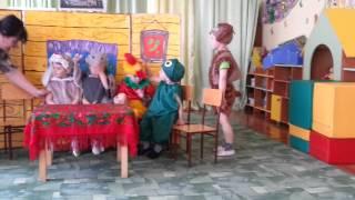 """сказка """"Теремок"""" в младшей группе"""