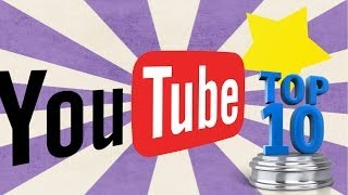 TOP 10 canales Youtube favoritos