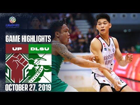 UP vs. DLSU - October 27, 2019 | Giga Highlights | UAAP 82 MB
