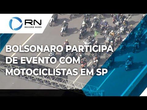 Bolsonaro participa de