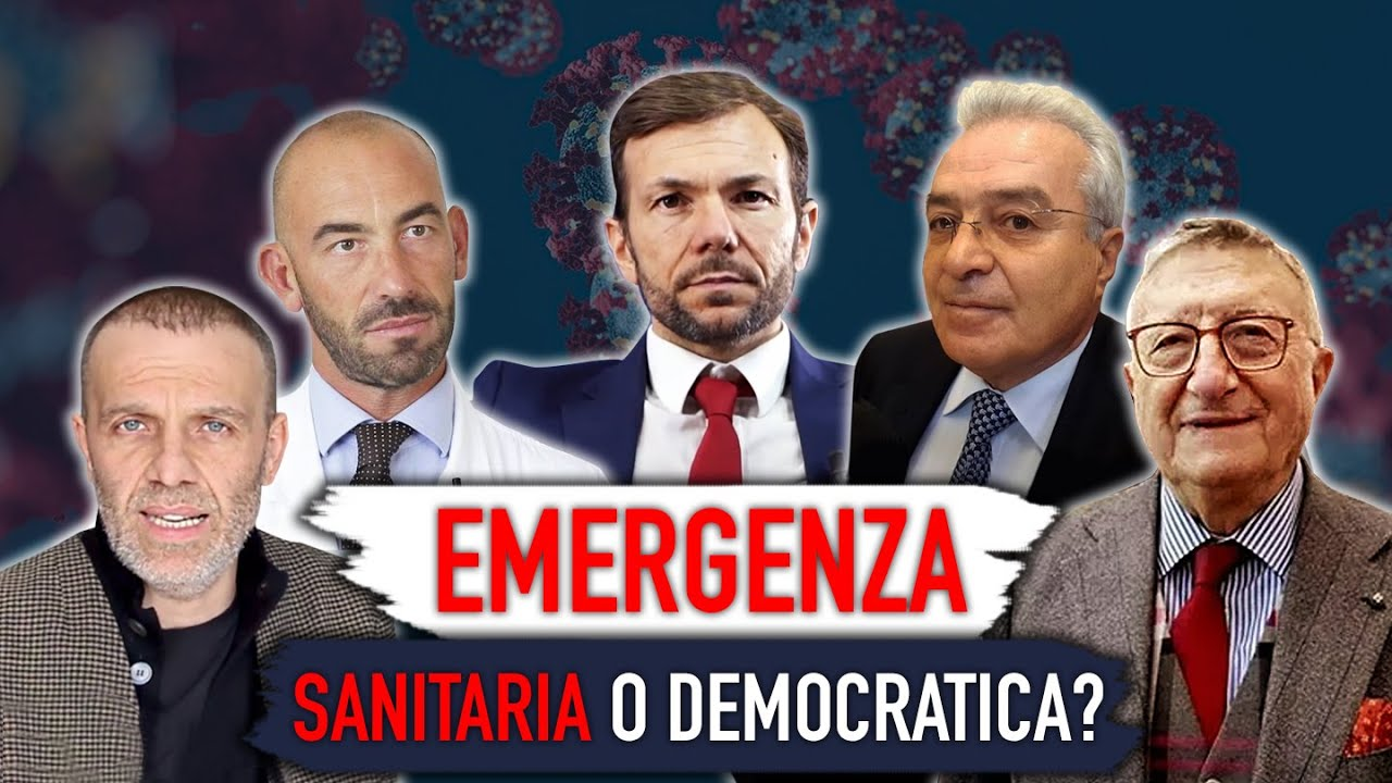 Emergenza sanitaria o emergenza democratica?-Intervista a P.Bacco, M.Bassetti, A.Giorgianni, G.Tarro