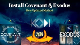 Install Covenant & Exodus On Kodi v17.6 (With Updated Method) 2018