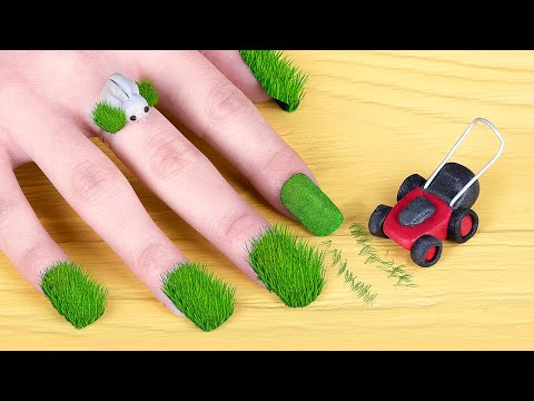 11 лайфхаков для ногтей / Весенний нейл-арт