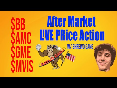🔴[LIVE] EVERYTHING STOCKS! (AMC/GME/BB/MVIS) Short Squeeze?