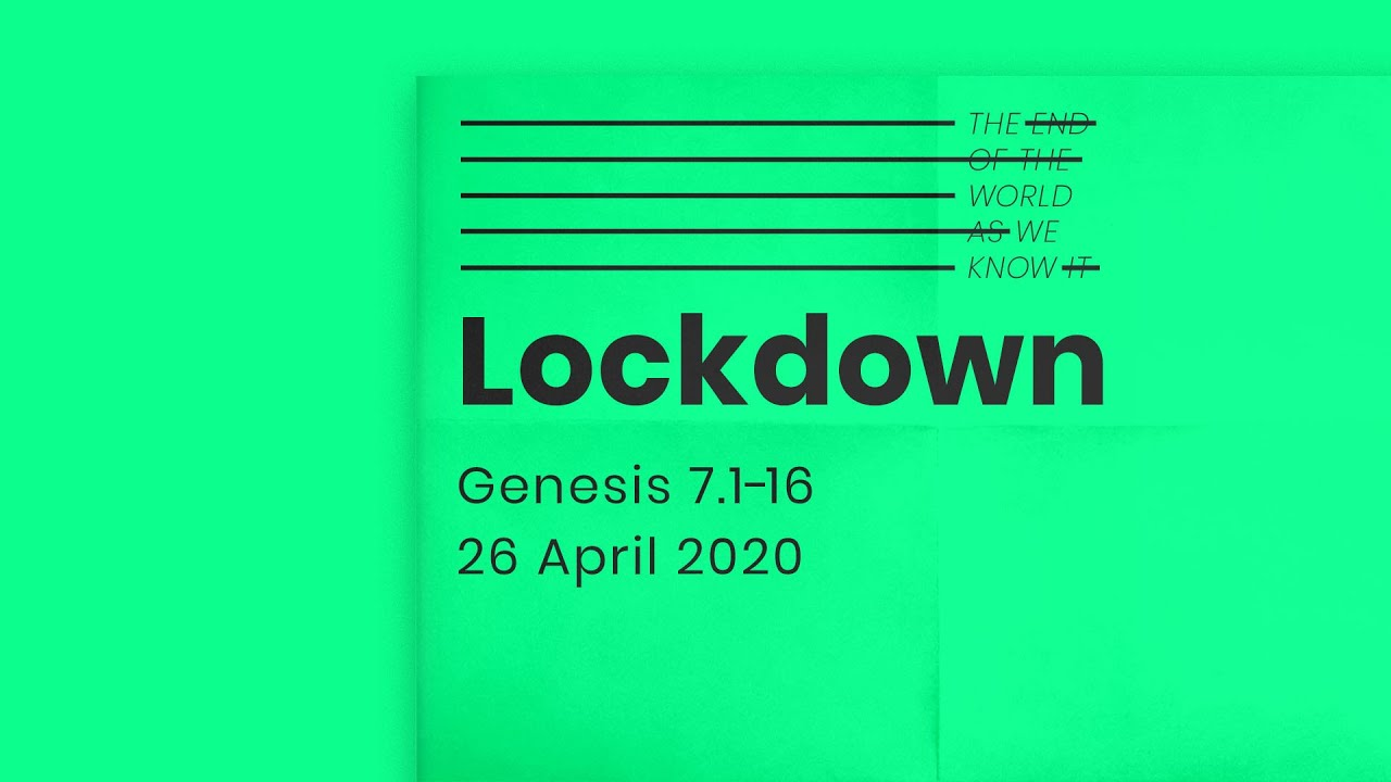 The end of the world as we know it // Lockdown Cover Image