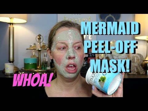 MERMAID RUBBER PEEL-OFF MASK | OMG!