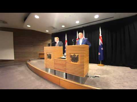 Child Obesity & Christmas Island - Post Cabinet Press Conference 19/10/2015