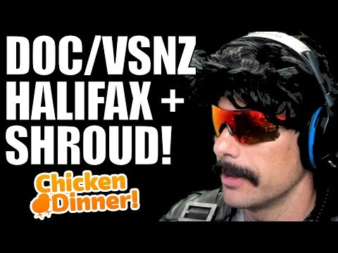 DrDisrespect -   DOC SHROUD VSNZ AND HALIFAX BEASTING TOGETHER