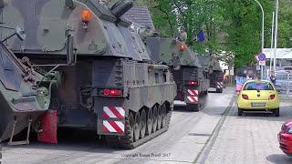 Bundeswehr Manöver Heidesturm 2017 Sennelager Training Center STC Mars PzH 2000