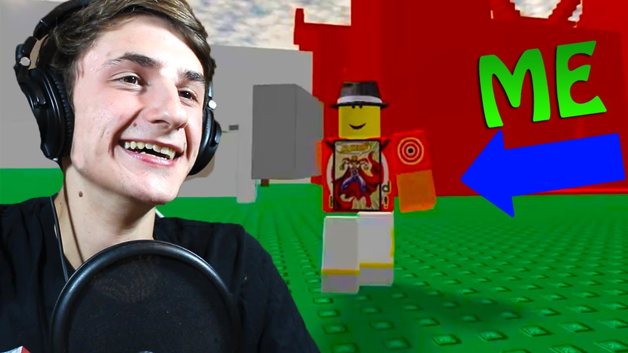 Reacting To My First Roblox Video - roblox in real life tofuu