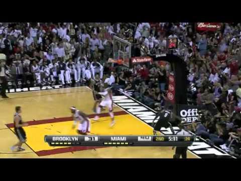 NBA Brooklyn Nets Vs Miami Heat Game Recap 11/07/2012