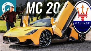 Не может быть! 630 лс с 3.0 V6?! MC20: новый СУПЕРКАР Maserati. История Maserati и Ferrari