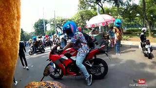 Sunmory bareng temen temen Elmo and Friends // hari pahlawan // motovlog ngapak