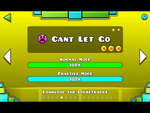 Geometry Dash - Can't Let Go 100% Complete